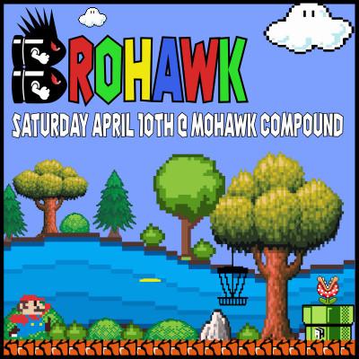 2021 Brohawk CFO Fundraiser logo