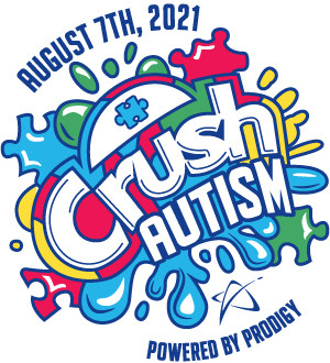 Crush Autism Powered by Prodigy logo