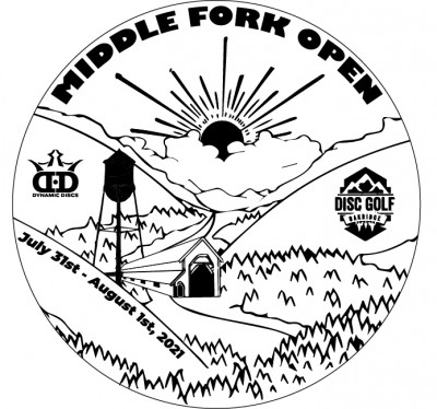 Middle Fork Open presented by Dynamic Discs logo