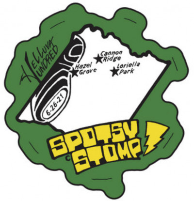 Spotsy Stomp logo