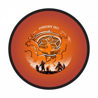 GYROscope #4:  Ghost of Franklinstein logo