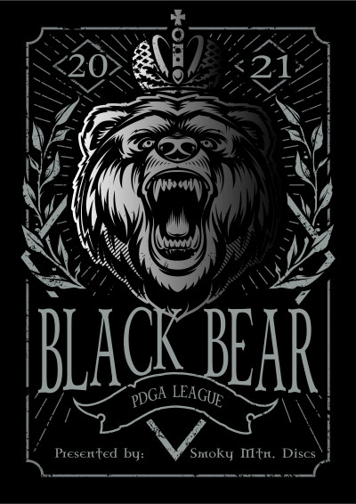 Black Bear PDGA League 2021 - Week 1 logo