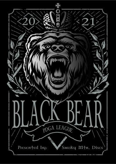 Black Bear PDGA League 2021 - Week 9 logo