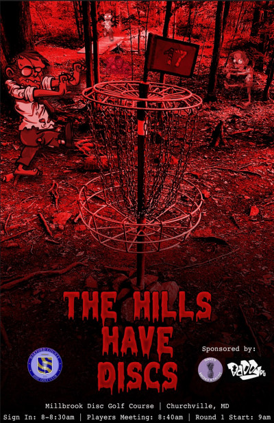 The Hills Have Discs logo