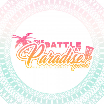 The Battle at Paradise Pointe - presented by gsDisc Golf logo