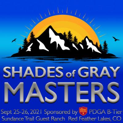 Shades of Gray MASTERS Sponsored by Discmania logo