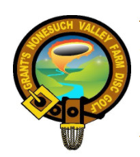 Grants Disc Golf Open Singles Tournament logo