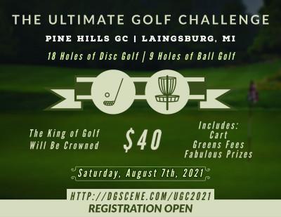 The Ultimate Golf Challenge logo
