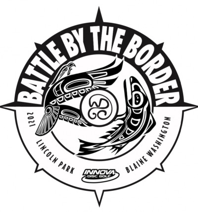 Battle By the Border Driven by Innova Disc logo
