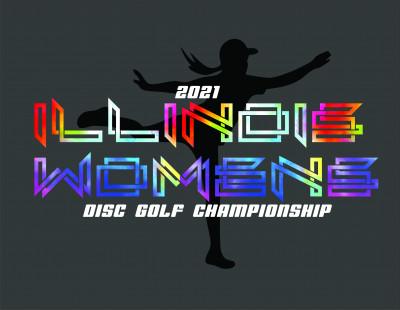 2021 Illinois Women's Disc Golf Championship logo
