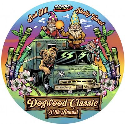 The 39th Annual Dogwood Classic logo
