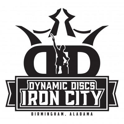 Jasper Trilogy Challenge presented by Dynamic Discs Iron City logo