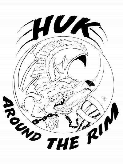 Huk Around The Rim logo