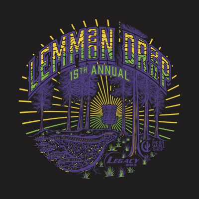 15th Annual Lemmon drop 2021 presented by Legacy Discs and Moon Smoke Shop logo
