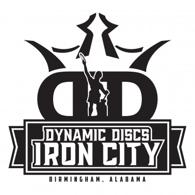 IronThrown Disc Golf Tour- Presented by DD Iron City - Event 4 logo