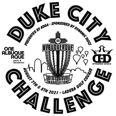 Duke City Challenge 2021 sponsored by Dynamic Discs & hosted by ADGA logo