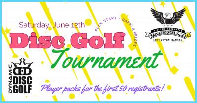 Lecompton Territorial Days Disc Golf Tournament logo