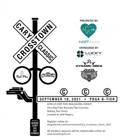 Cary Crosstown Classic - Presented by Hart Dental logo