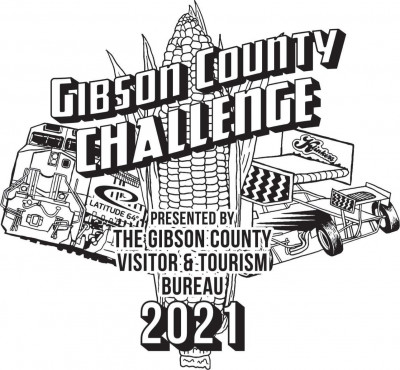 Gibson County Challenge presented by Latitude 64 & the Gibson County Visitors and Tourism Board logo