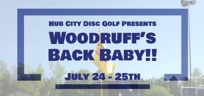 Woodruff's Back Baby!! logo