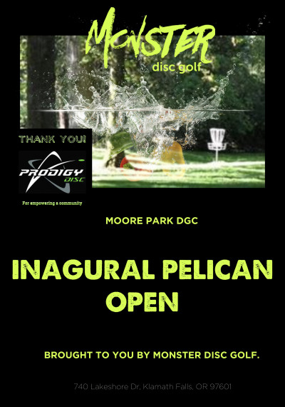 The Inaugural Pelican Open, powered by Prodigy. logo