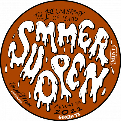 The First University of TEXAS Summer Open logo
