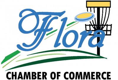 Flora Chamber of Commerce Amateur Doubles Disc Golf Tournament logo