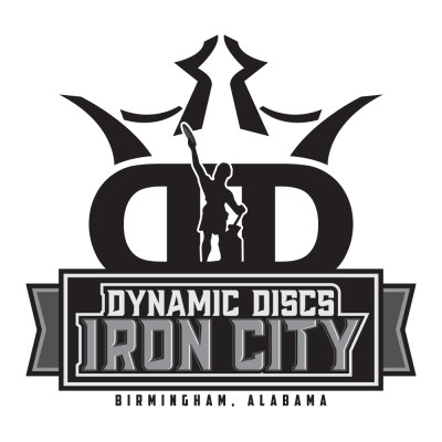 IronThrown Disc Golf Tour- Presented by DD Iron City - Event 5 logo