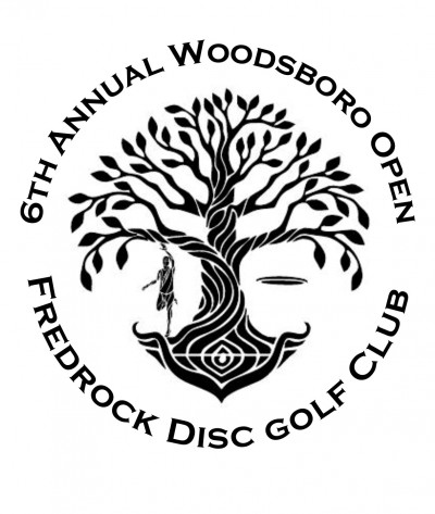 Woodsboro Open 2021 Sponsored by Dynamic Discs- Pro Day logo