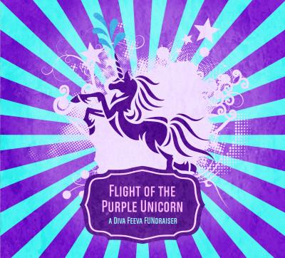 Flight of the Purple Unicorn - Night Flight (Glow Doubles) logo