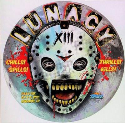 Lunacy XIII presented by Play it Again Sports - Longmont logo