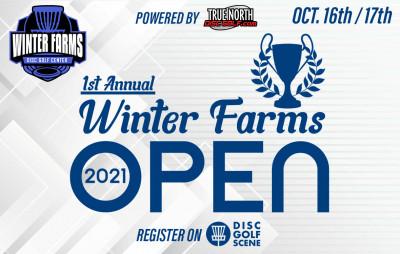 The 2021 Winter Farms Grand OPEN logo