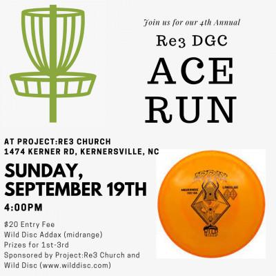 Re3 Ace Run 2021 logo