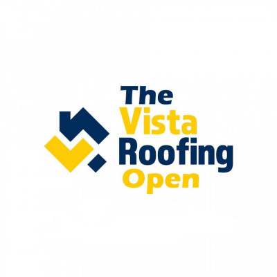 The Vista Roofing Open logo