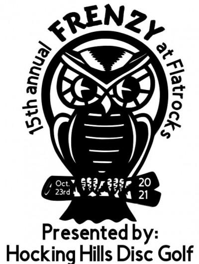 15th Annual Flatrocks FRENZY - Presented by: Hocking Hills D.G. Store logo