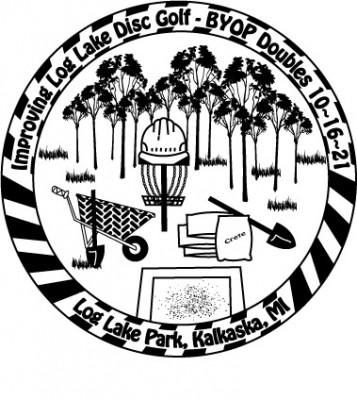 Improving Log Lake Disc Golf-BYOP Doubles logo