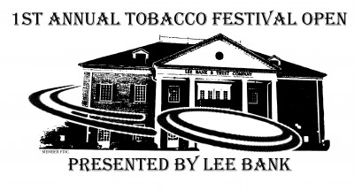 1st Annual Tobacco Festival Open:  Presented By Lee Bank logo