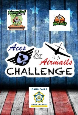 Aces & Airmails Challenge Fundraiser for the Idaho Falls FOP logo