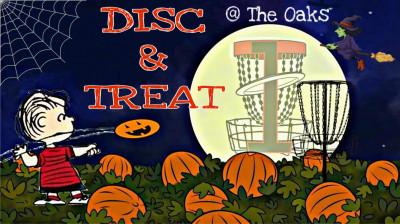 Kids Halloween Disc & Treat logo