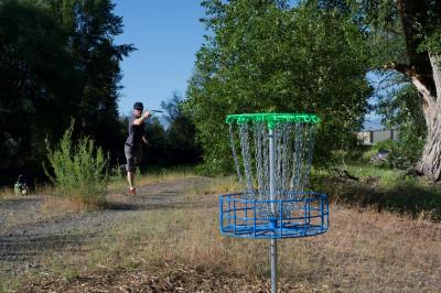 Ellensburg Disc Golf Club Fall Tournament logo
