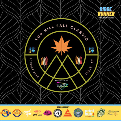 Tug Hill Fall Classic Presented by NSH Custom Discs logo