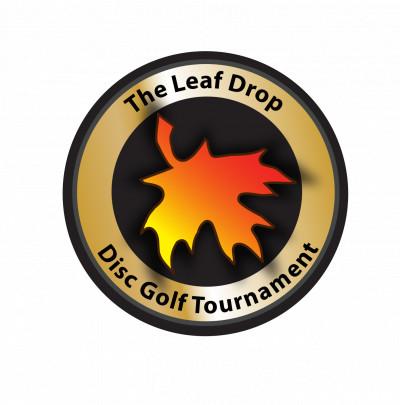 The Leaf Drop Doubles Disc Golf Tournament logo