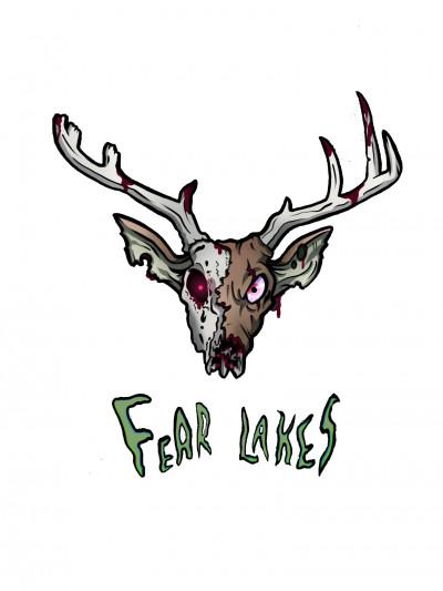 Fear Lakes Glow Disc Golf logo