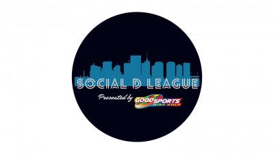 Social D Fall League Presented by Good Sports logo