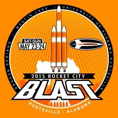 2015 Rocket City Blast logo