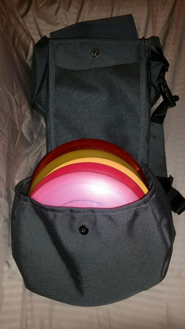 Disc Golf Bag Saddlebags For Dogs