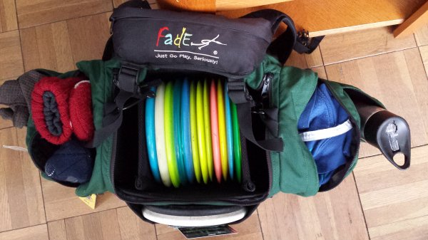 Used Voodoo Disc Golf Karma With Fade Gear Straps Rainfly